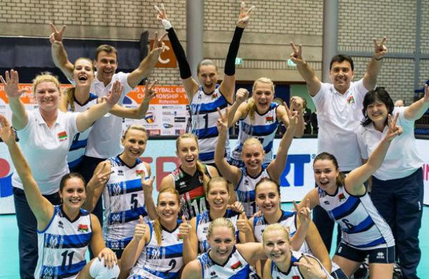 Женская сборная Беларуссии, обыграв гречанок, пробилась начемпионат Европы!
