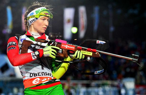 Первая гонка Дарьи Домрачевой: 2 промаха и37 место вспринте