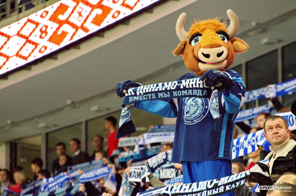 «Витязь» прервал победную серию минского «Динамо» из 6-ти матчей