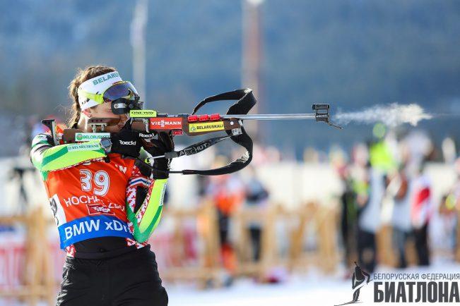 Состав сборной Беларуси по биатлону на 3-й этап Кубка мира и Кубка IBU