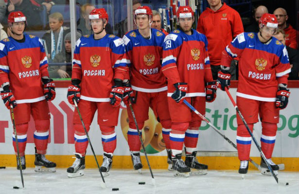 Русская молодежная сборная похоккею вышла вполуфинал чемпионата мира