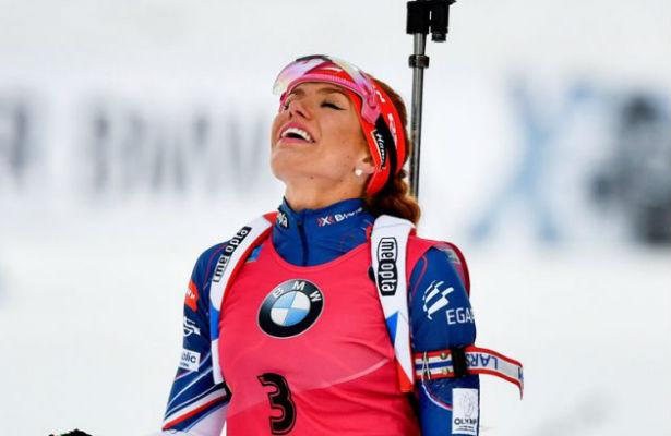 Чешская биатлонистка Коукалова выиграла спринт наЧМ вХохфильцене, Услугина— 15-я