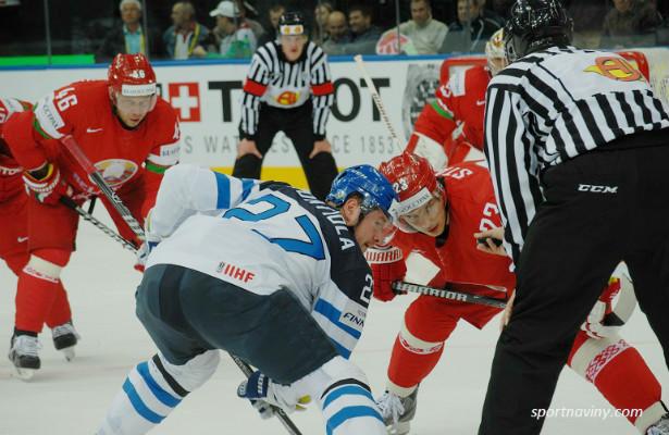 Финляндия сыграет с Беларусью впервом матче группы ВнаЧМ