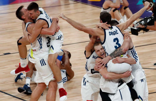 Словенец Драгич признан самым необходимым игроком Евробаскета