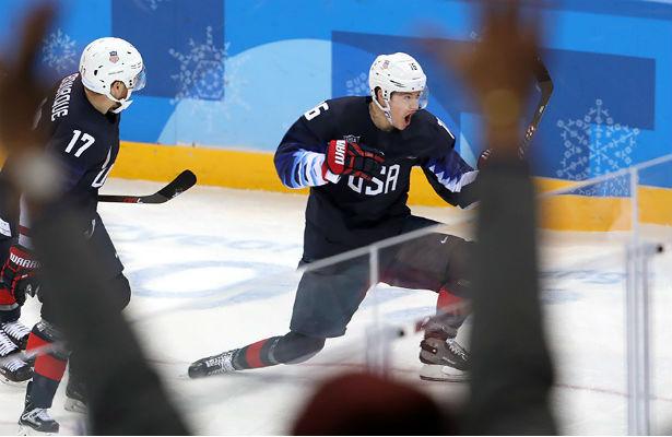 Русские хоккеисты обыграли США ивышли вчетвертьфинал олимпийского турнира
