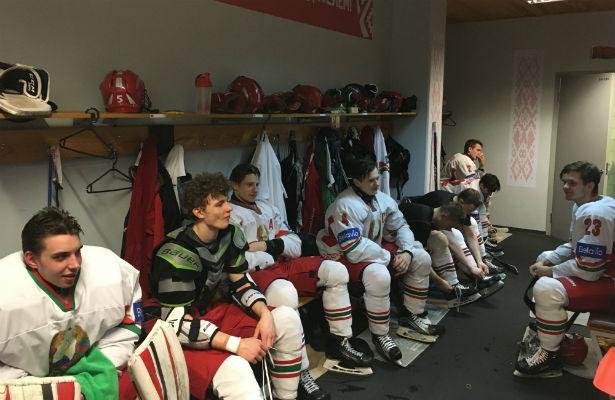 Юниорская сборная Белоруссии проиграла Швеции наЧМ похоккею в РФ